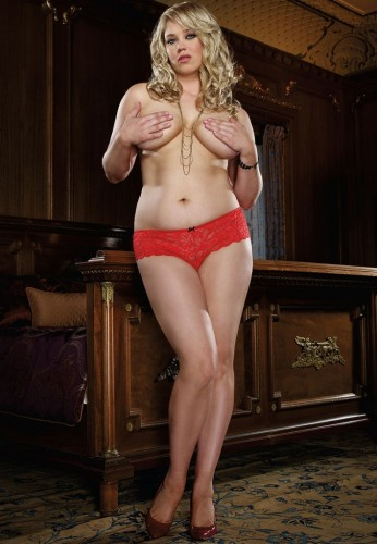 Panties ouvert - Style 7177 ruby