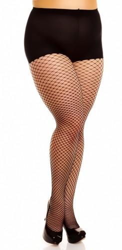 Mesh Netzstrumpfhose bis Größe 62