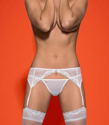 eleganter Strumpfbandgürtel mit Spitze
