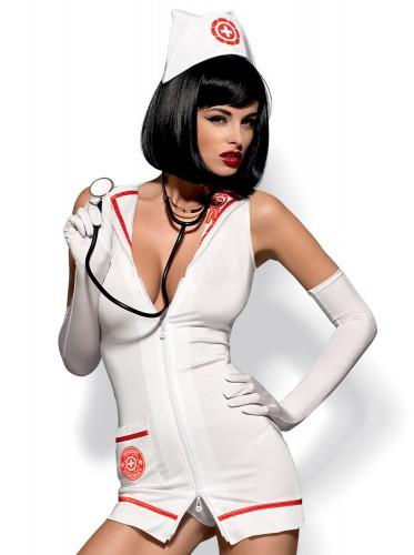 Krankenschwester-Kostüm mit Stethoskop
