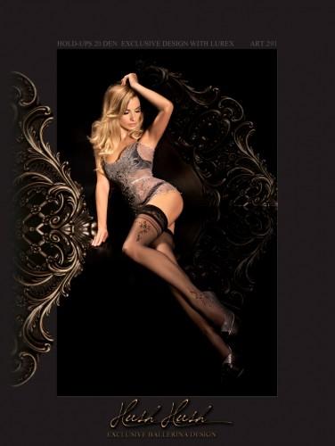 Halterlose Stockings / Strümpfe von Ballerina in 20den
