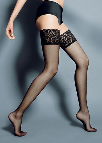 Stockings innen mit Silikonstreifen