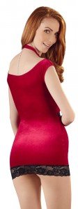 Rotes Minikleid von Cottelli Collection Costumes