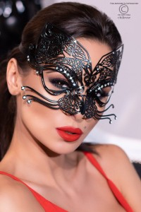 filigrane Maske aus Messing im Catlook