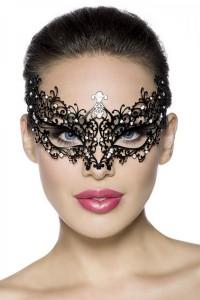 Venezianische Maske mit Strasssteinen