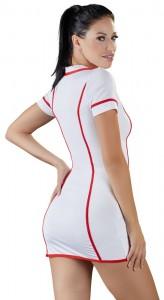 Kleid im Krankenschwester-Look