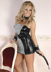 Leopard-Outfit Kostüm